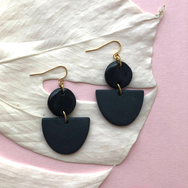 MAHLIA EARRINGS // MONOCHROME