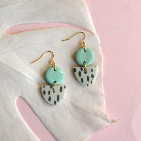 MARIE EARRINGS // RAINDROPS