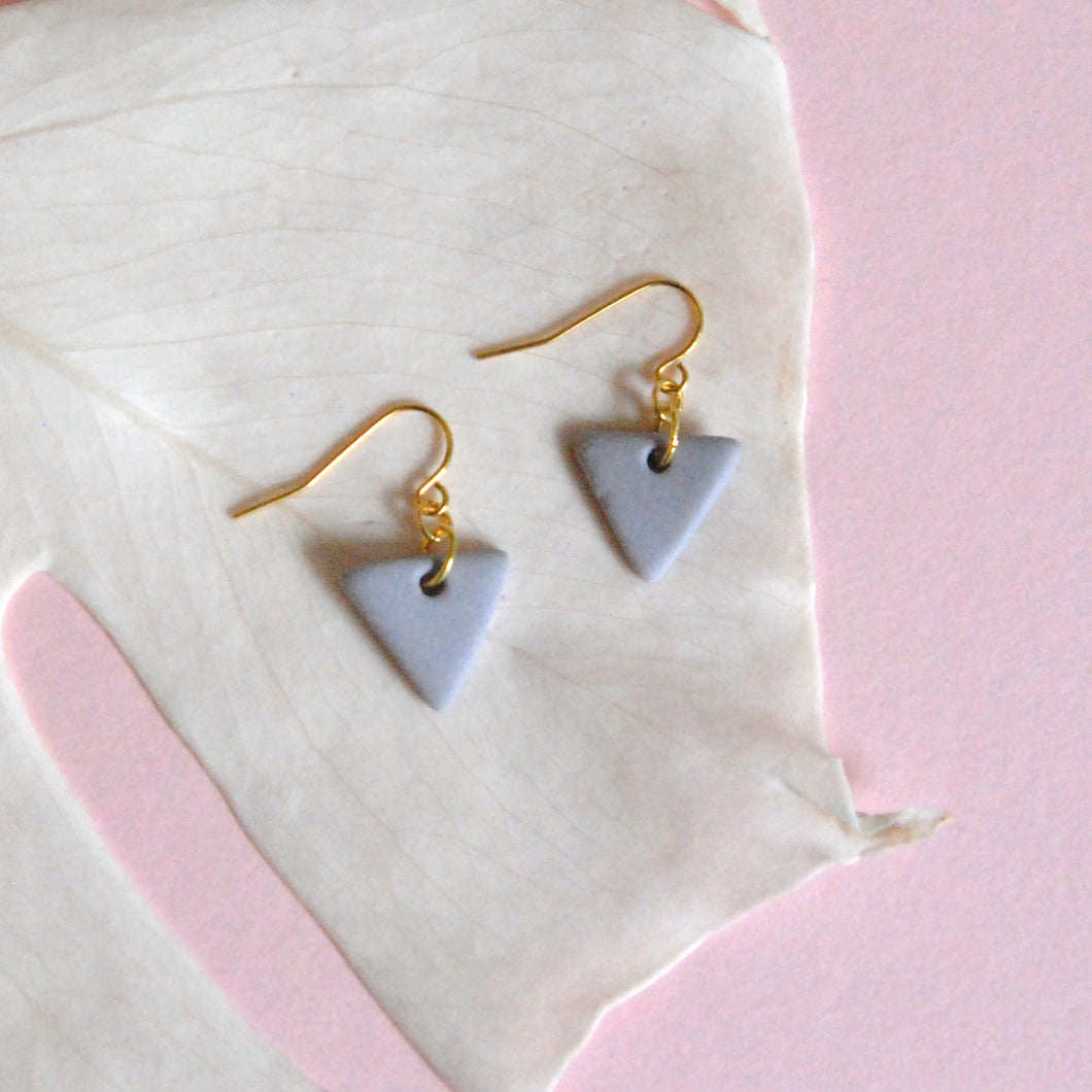 SARAH EARRINGS // MONOCHROME MATTE