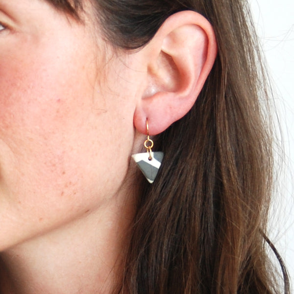 SARAH EARRINGS // TERRAZZO