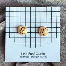 Load image into Gallery viewer, PRALINE STUDS // LINES