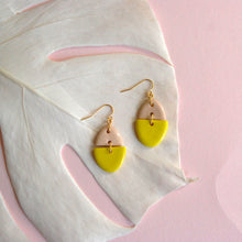 Load image into Gallery viewer, ZOË EARRINGS // TWO TONE