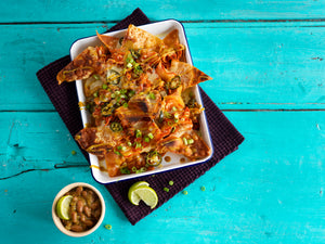 Asian-Inspired Wonton Nachos