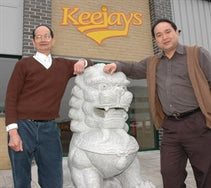 Mr Kee Wah Lee and Sammy Lee, founders of Keejays Ltd