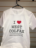 Short Sleeve I love West Colfax T-Shirts