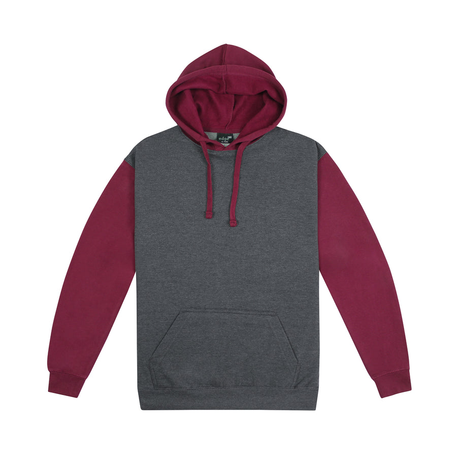 The Wanderlust Charcoal/Maroon / XXS