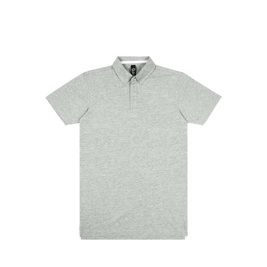 The Element Polo Mens Grey Marle / S