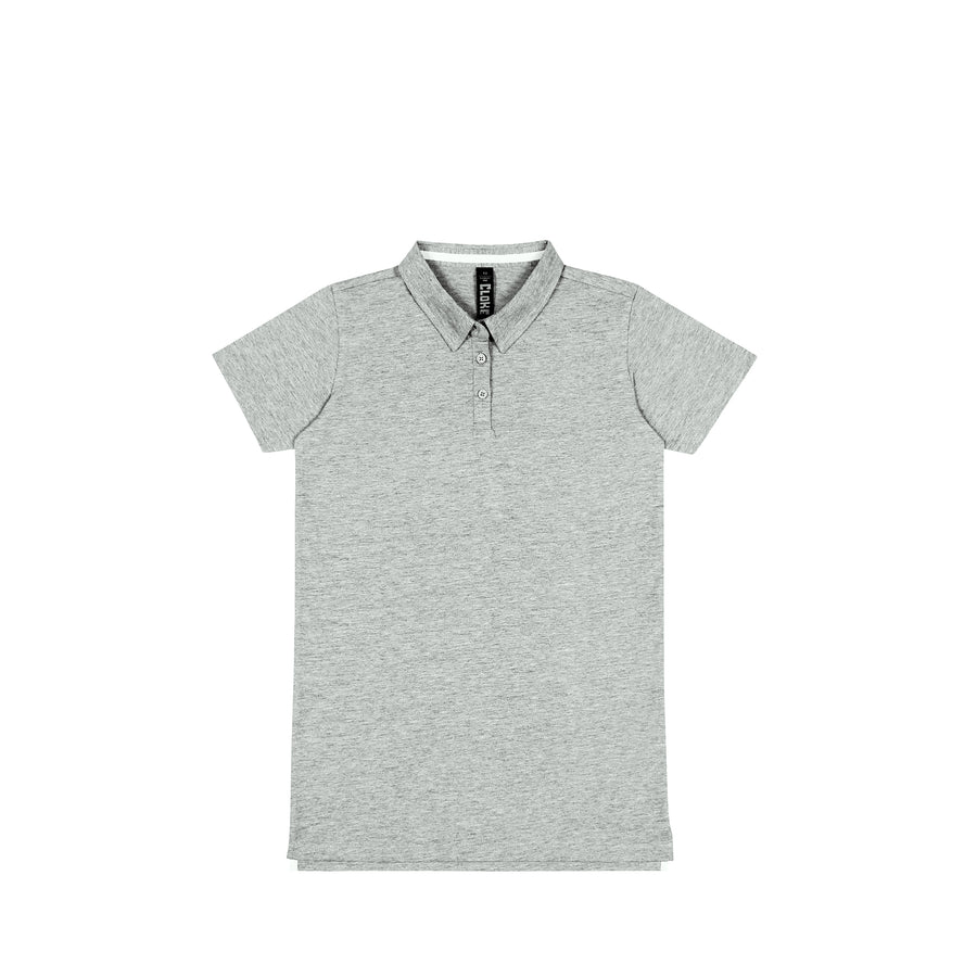 The Element Polo Womens - Grey Marle / 8