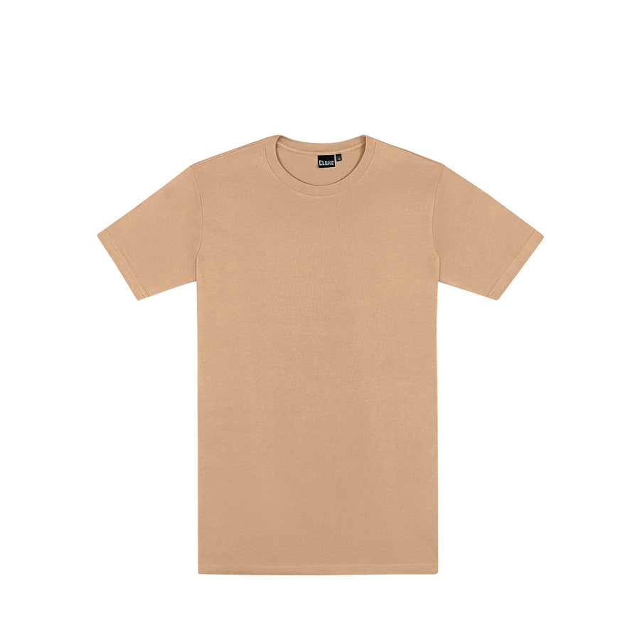 The Outline Tee Mens Tan / S