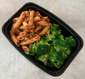 Penne Pasta w-Ground Turkey