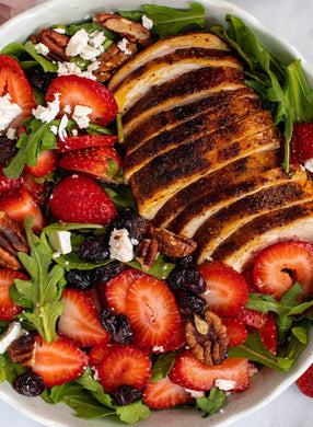 Family size Blackened Chicken Berry Salad