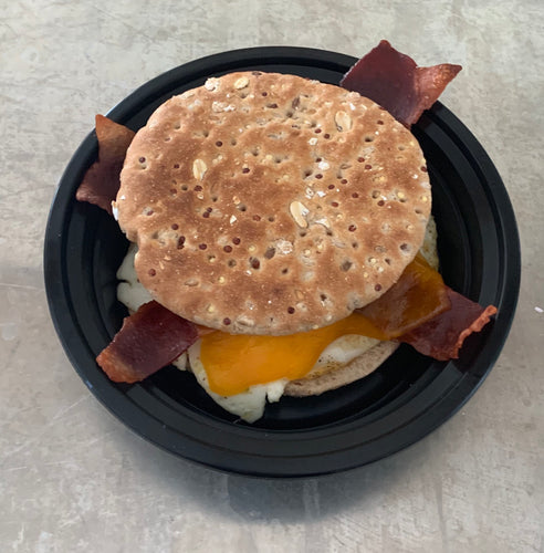Family Size Breakfast Sandwich