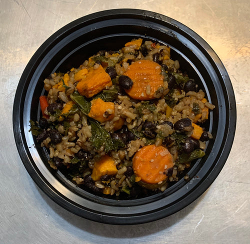 Family Size Sweet Potato Quinoa Bowl