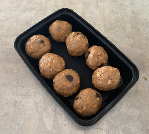 Family Size Pumpkin Spice Protein Bites w-Dark Chocolate Chips