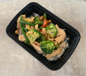 Lean Down Cashew Chicken Stir Fry