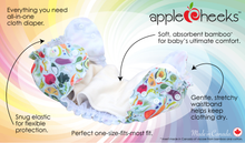 Load image into Gallery viewer, AppleCheeks All-in-One Nappy