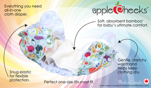 AppleCheeks All-in-One Nappy