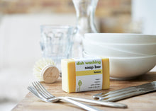 Load image into Gallery viewer, EcoLiving Washing Up Soap Bar - Lemon