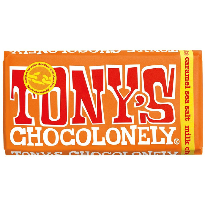 Tony's Chocolonely - Milk Caramel Seasalt 180g