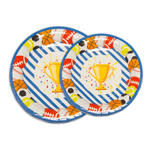 Load image into Gallery viewer, Sports Champ Birthday Party Supplies Decorations & Tableware Kit