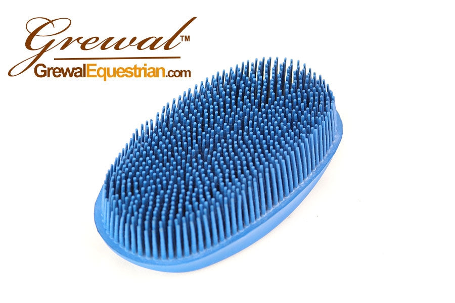 Oval Face Horse Curry Brush