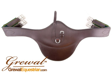 Grewal Australian Nut Brown Stud Guard Girth