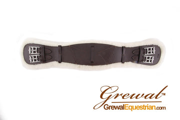Grewal Rich Brown Dressage Girth