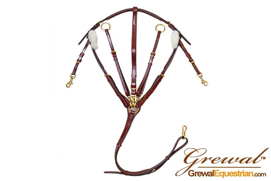 Middlefield Leather Breastplate