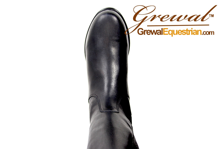 Grewal's Klasic Womens Tall Leather Dressage Boots