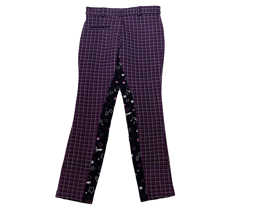 Children's Mixed Print Riding Breeches