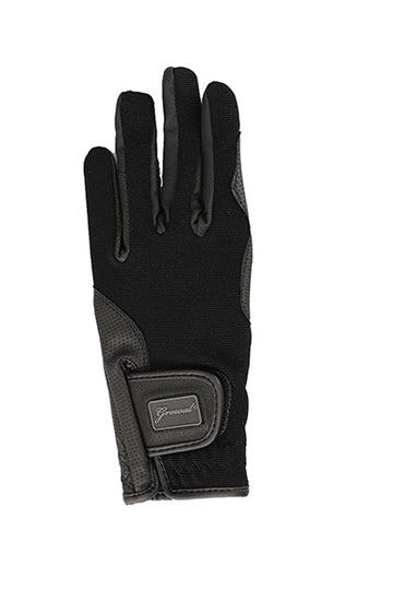 Diana Synthetic Serino, Serino Palm with 4-way Stretch Riding Gloves with Touchscreen Capability