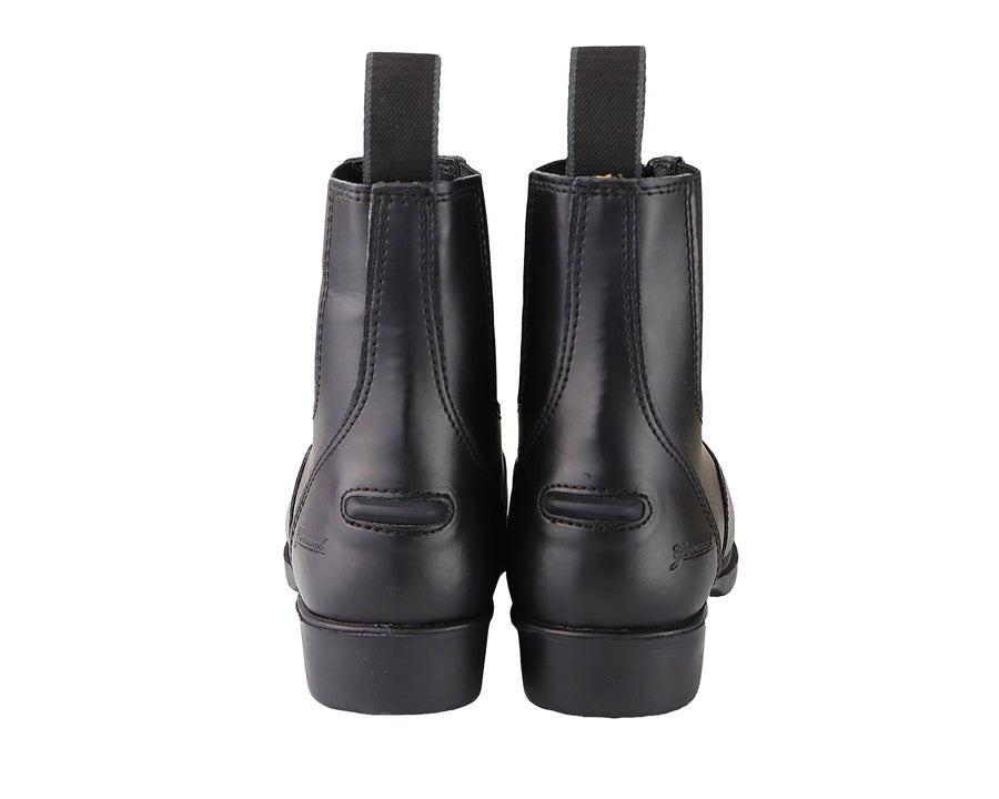 Children's Zip Up Synthetic Paddock Boots