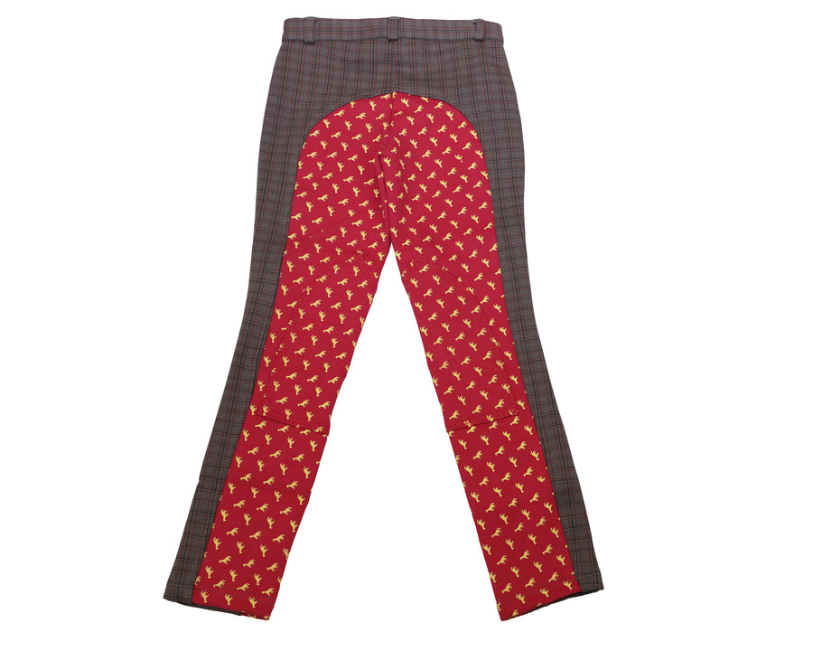 Children's Horse Print Riding Breeches