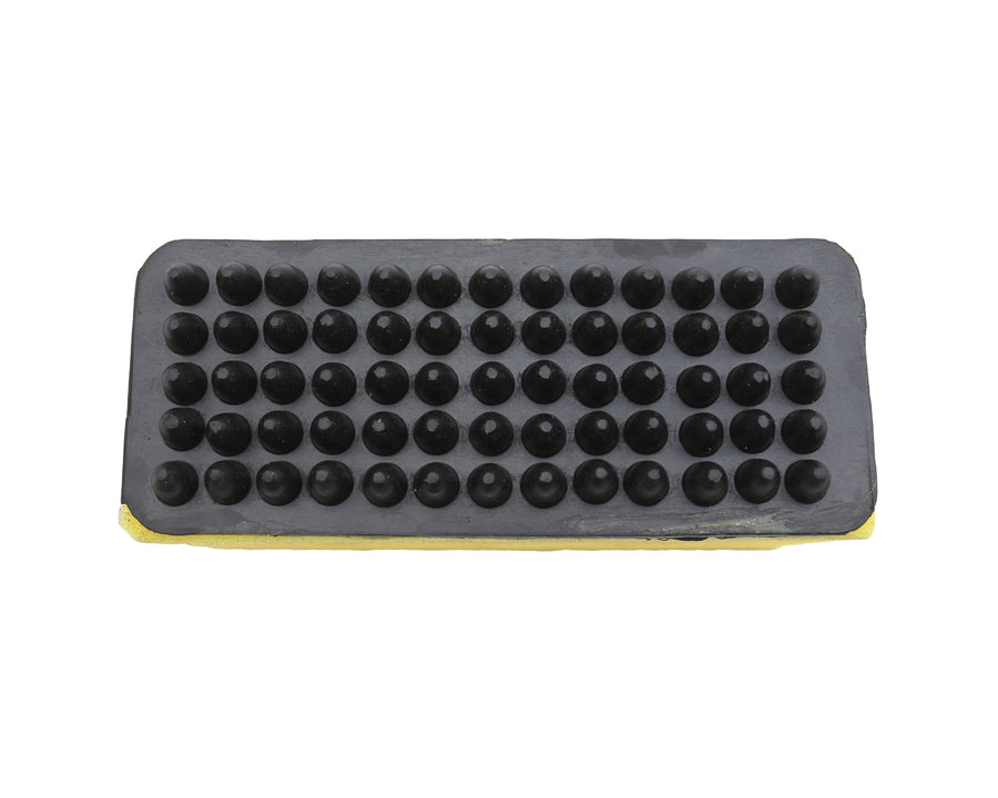 Rubber Grooming Sponge Brush