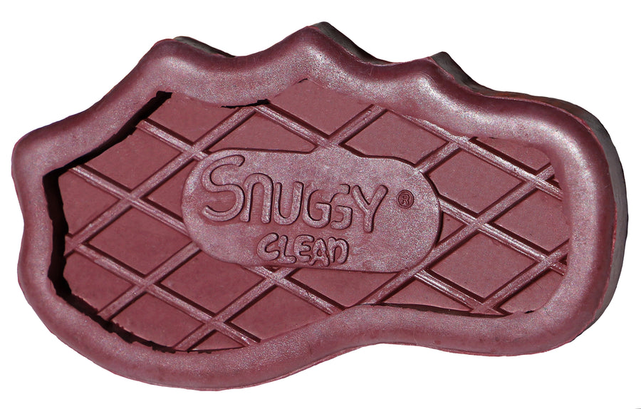 Snuggy Clean *  Large Teeth Rubber Groomer Curry