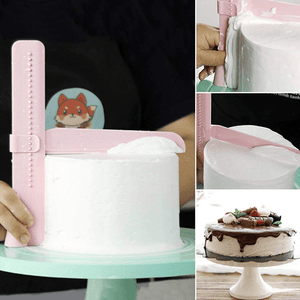 Right Angle Cake Scraper Tool