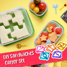 Load image into Gallery viewer, DIY Sandwiches Cutter Set