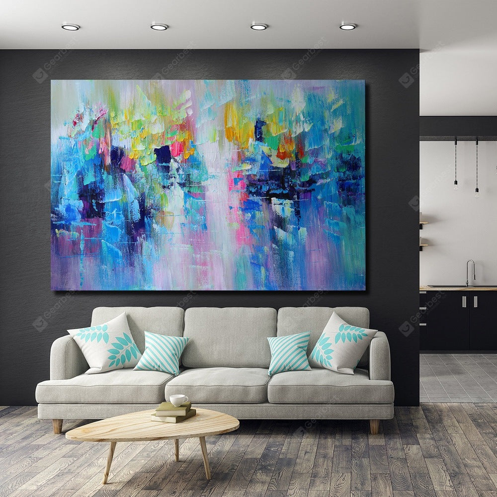 QINGYAZI HQ009 Hand-Painted Abstract Oil Painting Home Wall Art Painting Wall_Art