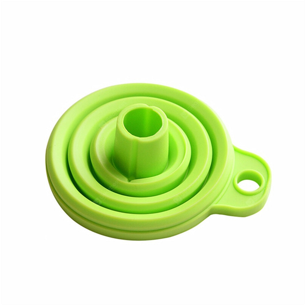 Foldable Silicone Funnel - Random Color Other_Kitchen_Accessories