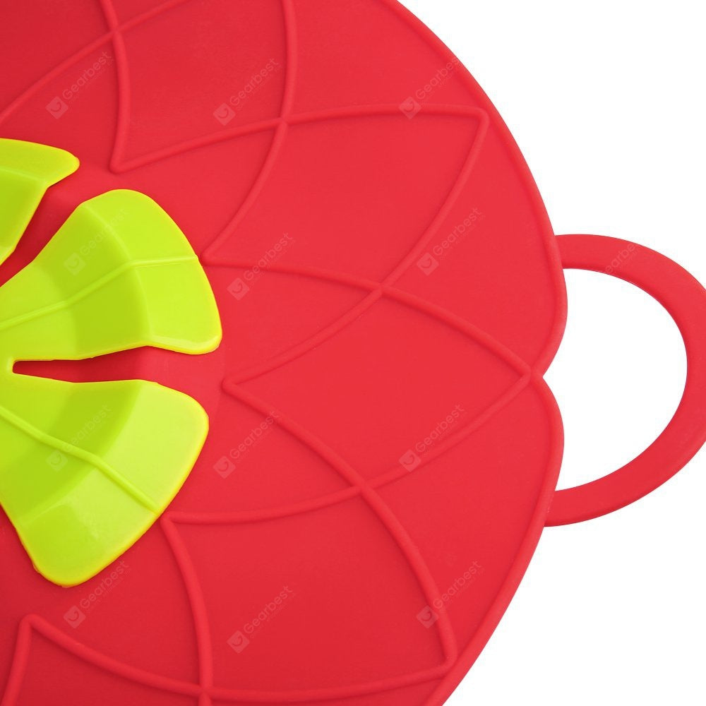 Spill Stopper Lid Cover Silicone Spill Stopper Pot Anti Spill Lid Cover Other_Kitchen_Accessories
