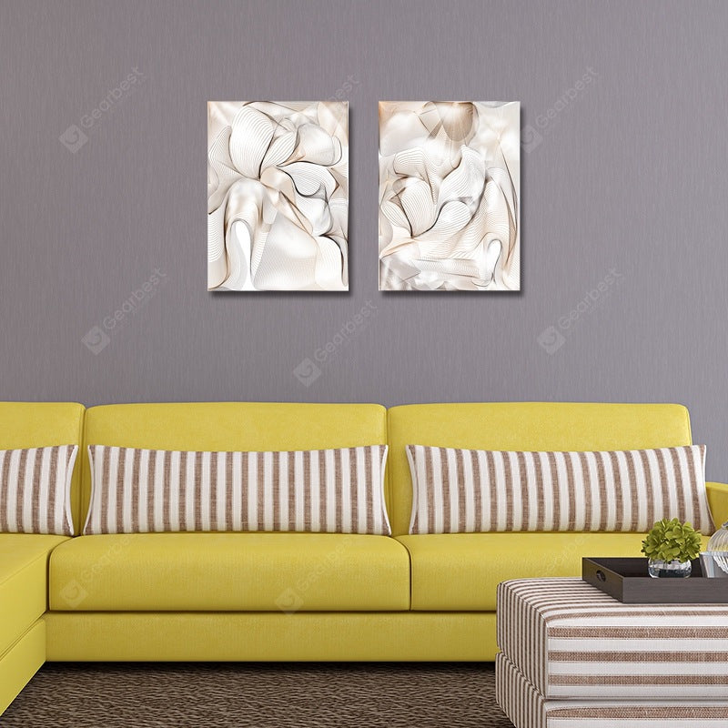 Fashion Art Abstraction Print Art 2PCS Wall_Art