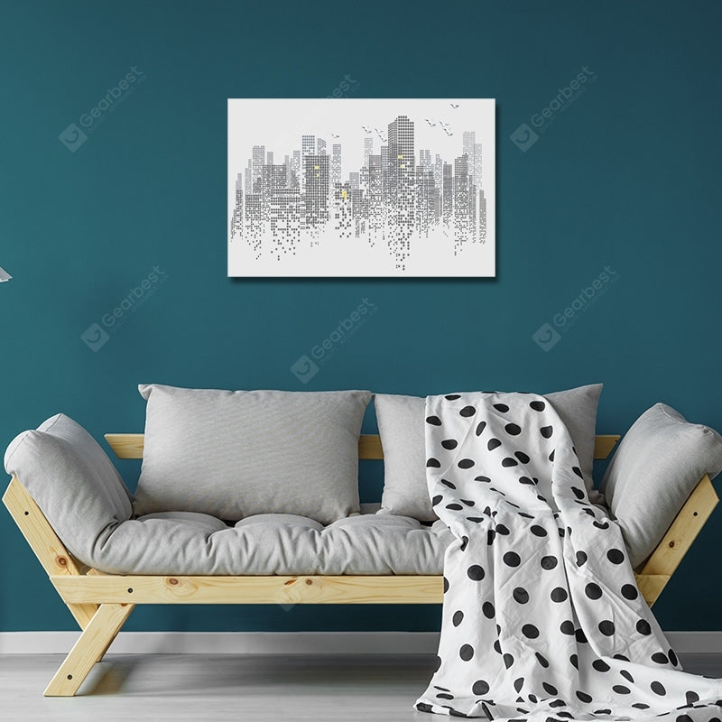 DYC Interesting Urban Architecture Print Art Wall_Art