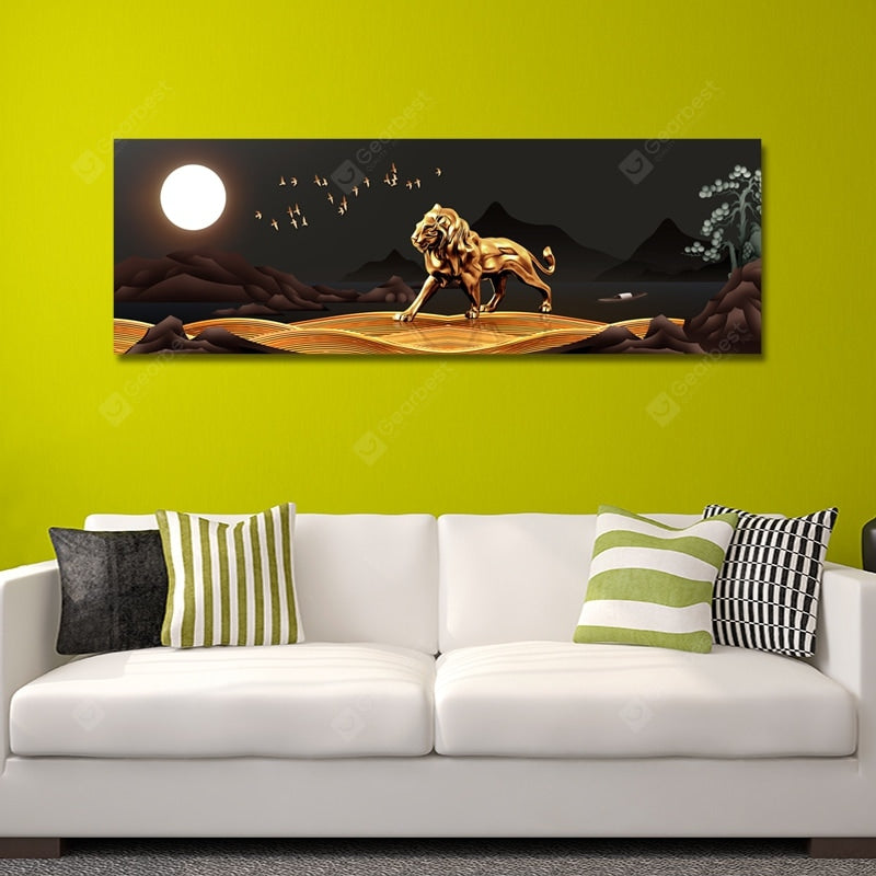 DYC Abstract Night Scenery Print Art Wall_Art
