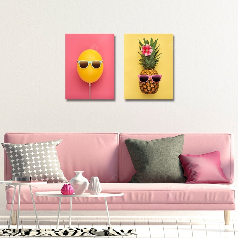 Fresh and Lovely Fruit Print Art 2PCS Wall_Art