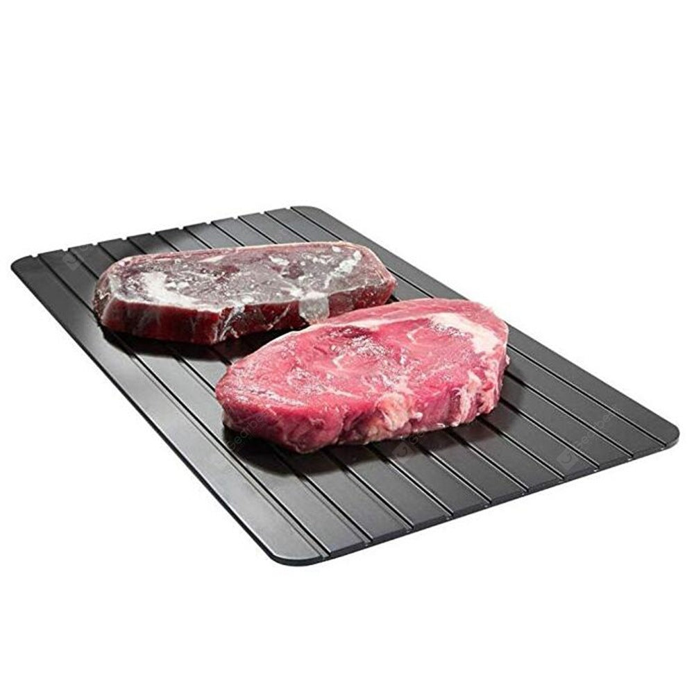1pc Fast Defrosting Meat Tray Rapid Safety Thawing Cookware