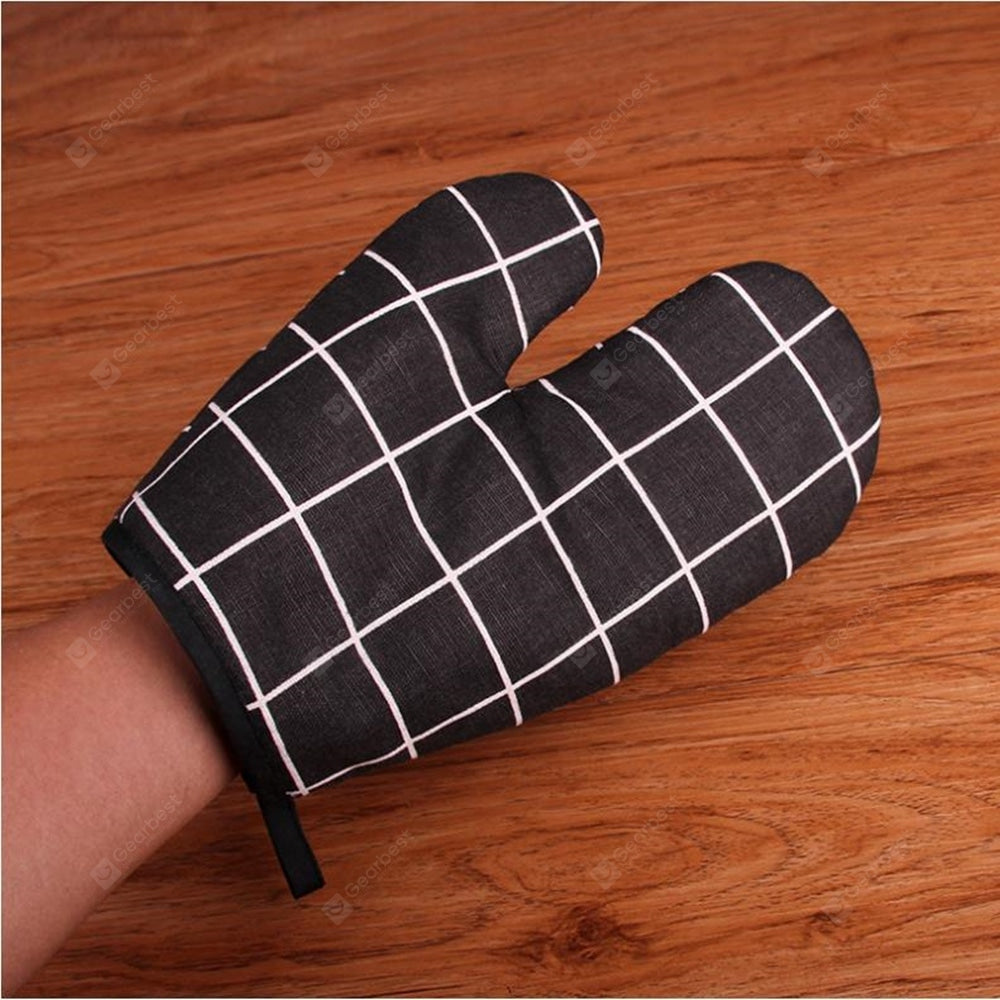 Anti Heat High Temperature And Thickening Microwave Oven Baking Gloves Bakeware