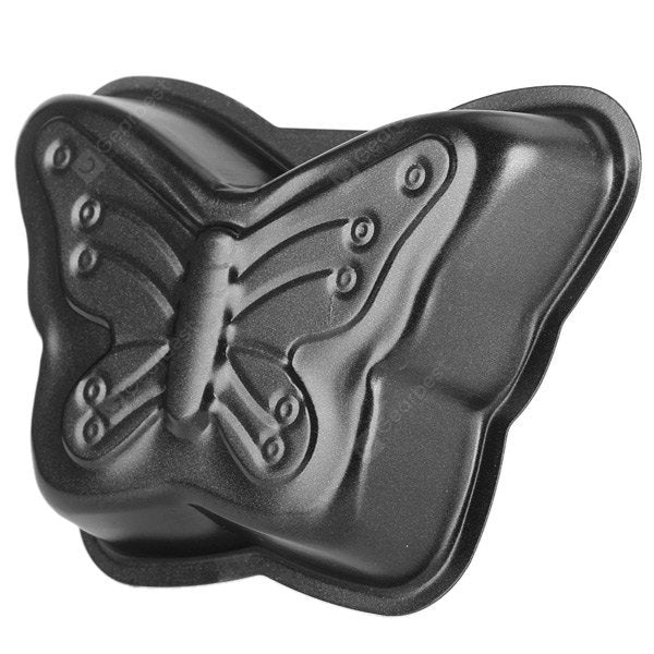3Pcs Reusable Baking Tray Butterfly Shaped Nonstick Cake Muffin Pan Household Gadget Bakeware