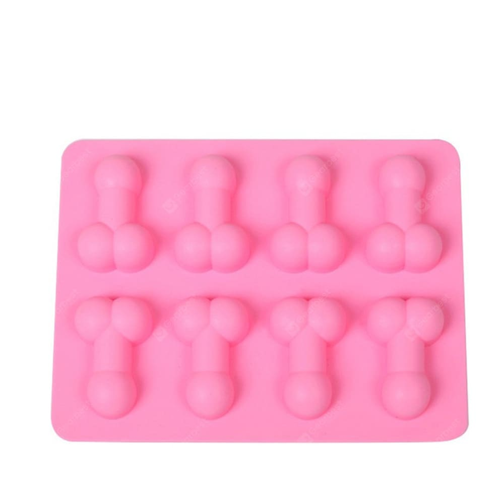 The New 8 Even Taste Silicone Cake Chocolate Biscuits Ice Tray Mold Bakeware
