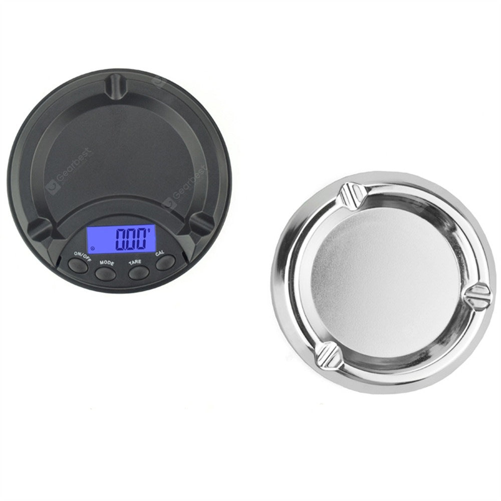 500g x 0.1g LCD Digital Jewelry Scale for Gold Sterling Silver Cookware
