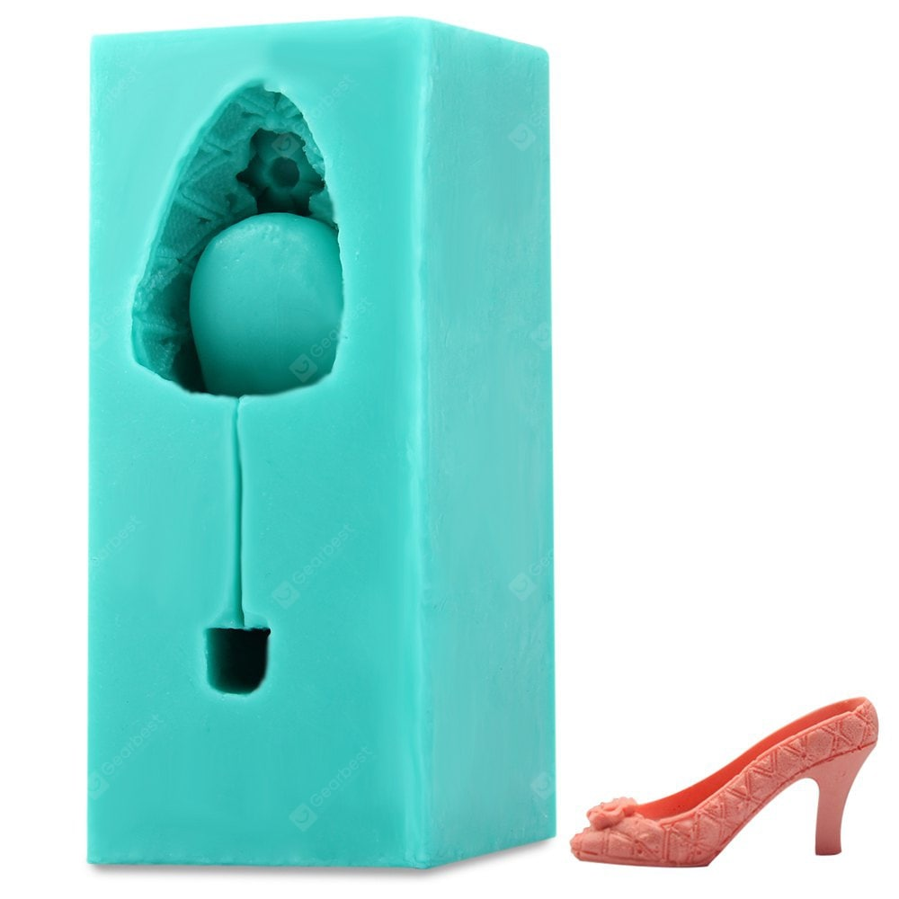 3D High-heeled Shoes Silicone Bakeware Bakeware